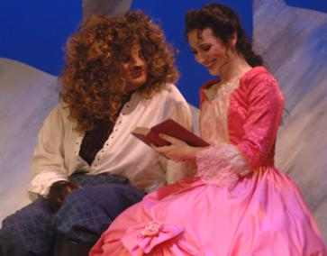 "Anthony Kaneaster and Blair Hollingsworth from San Diego Junior Theatre's ""Beauty and the Beast"". Photo by Ken Jaques."