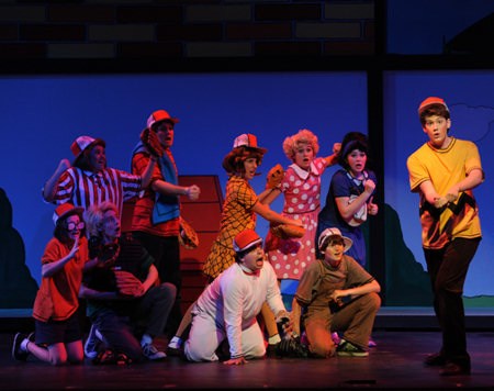 "San Diego Junior Theatre's ""You're a Good Man, Charlie Brown"". Photo by Ken Jacques."